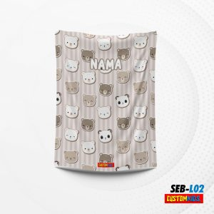 selimut bayi lembut dan lucu